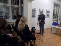 """Представяне на българското издание на книгата """"Мишена"""" от Блаже Миневски (фотография)"""