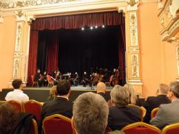 Концерт с участието на Гонца Богоромова Краповски по случай 70-годишнината на НАТО и коктейл в КИЦ на РСМ в София (фотография)