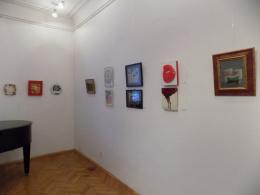 """Изложба """"Мал формат"""" на ДЛУМ во КИЦ на РМ во Софија (фотографија)"""