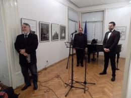 """Предновогодишен концерт """"Мала Италија патува со Павле Камилоски"""" во КИЦ на РМ во Софија (фотографија)"""