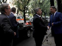Посета на претседателот на Р Македонија Ѓорге Иванов на КИЦ на Р Македонија во Софија (снимка)