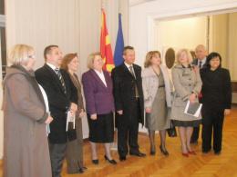 Посета на претседателот на Собранието на Р. Македонија Трајко Вељановски и парламентарна делегација на КИЦ на Р. Македонија во Софија (фотографија)
