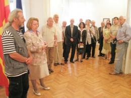 Никола Анѓелкоски, проект: Изложба на карикатури (фотографија)