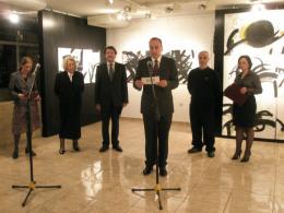 Национална галерија на Македонија, проект: Самостојна изложба на Нове Франговски (фотографија)