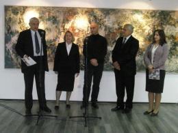 Музеј на современа уметност – Скопје, проект: Изложба на слики од Владко Миладинов (фотографија)