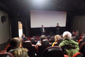 """Документарниот филм ЏЕЗМЕН во """"Lucky"""" Дом на киното, Пловдив (фотографија)"""