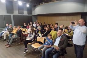 """Концерт на Камерен оркестар на МММ """"Саша Николовски Ѓумар"""" во Чешки центар - Софија (фотографија)"""