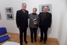 """Промоција на бугарското издание на книгата """"Нишан"""" од Блаже Миневски (фотографија)"""