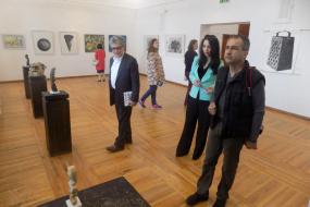 """С две македонски изложби беше открит Седмият Фестивал на Франкофонията """"Солей"""" в Созопол (фотография)"""